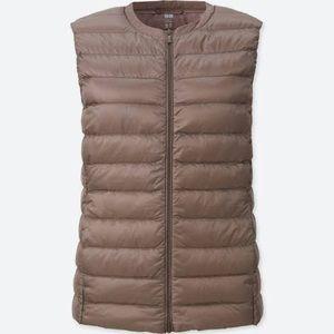 Light brown vest